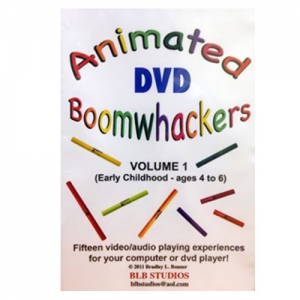 BoomWhacker 붐웨커 DVD Vol.1 Rhythm Band Animated Boomwhackers Vol 1 BB223뮤직메카