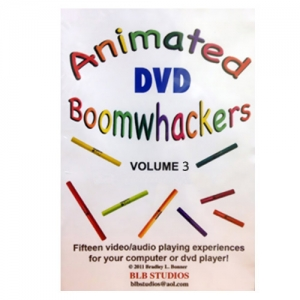 BoomWhacker 붐웨커 DVD Vol.3 Rhythm Band Animated Boomwhackers Vol 3 BB226뮤직메카
