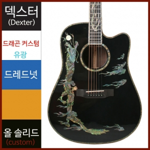 덱스터 통기타 DRAGON CUSTOM DC/BKDexter