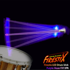 "Firestix LED Drumstick ""Purple Haze"" LED 드럼스틱 FX12PR 뮤직메카"