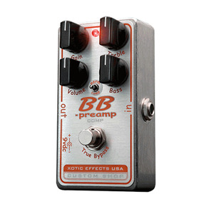 Xotic 엑조틱 기타이펙터 BB Preamp - COMP(BB Preamp with compression mode switch)뮤직메카