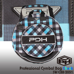 PDH Super Deluxe Cymbal Case Check 22 심벌케이스 SW-CBB-2051 뮤직메카