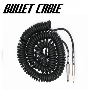 Bullet Cable 불렛 케이블 Coil Cable Black (BC-30CC) / 9.4m  뮤직메카