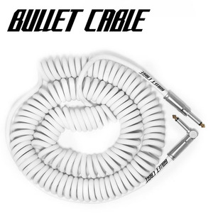 Bullet Cable 불렛 케이블 Coil Cable White (BC-30CCW) / 9.4m   뮤직메카