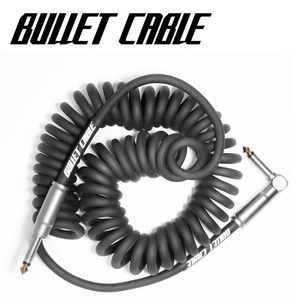 Bullet Cable 불렛 케이블 Coil Cable Black (BC-15CCB) / 5.18m뮤직메카