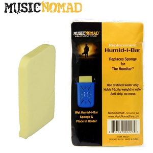 Music Nomad 뮤직노매드 Humid-i-Bar Replacement Sponge - Humitar 리필 용 스펀지