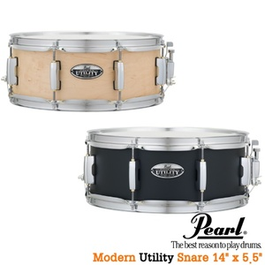 "Pearl Modern Utility Snare 14x5.5"" (메이플/보급형) MUS1455M뮤직메카"