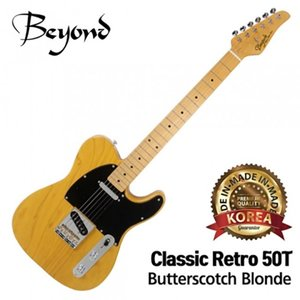 Beyond 비욘드 일렉기타 Classic Retro 50T (Butterscotch Blonde)