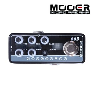Mooer 무어 기타이펙터 Digital Preamp / Koch PowerTone 003 POWER-ZONE