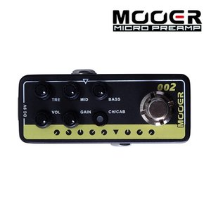 Mooer 무어 기타이펙터 Digital Preamp / Marshall JCM900 002 UK GOLD 900