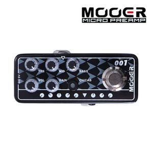 Mooer 무어 기타이펙터 Digital Preamp / Diezel Hagen 001 GAS STATION뮤직메카