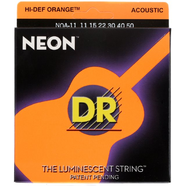 DR 디알 통기타줄 NEON OR 11-50