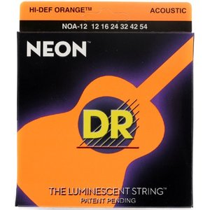 DR 디알 통기타줄 NEON OR 12-54