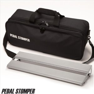 PedalStomper 페달스톰퍼 페달보드+가방 C50 Compact50 - Silver Frame with Deluxe Case뮤직메카