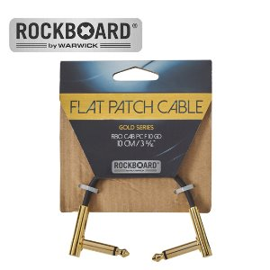 RockBoard 패치케이블 Flat Patch Cable - Gold (10cm)뮤직메카
