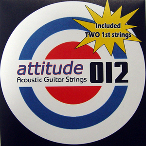 Attitude Acoustic String 012 (품절)